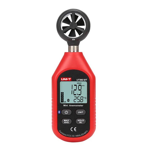 Anemómetro Con Bluetooth Unit UT363BT