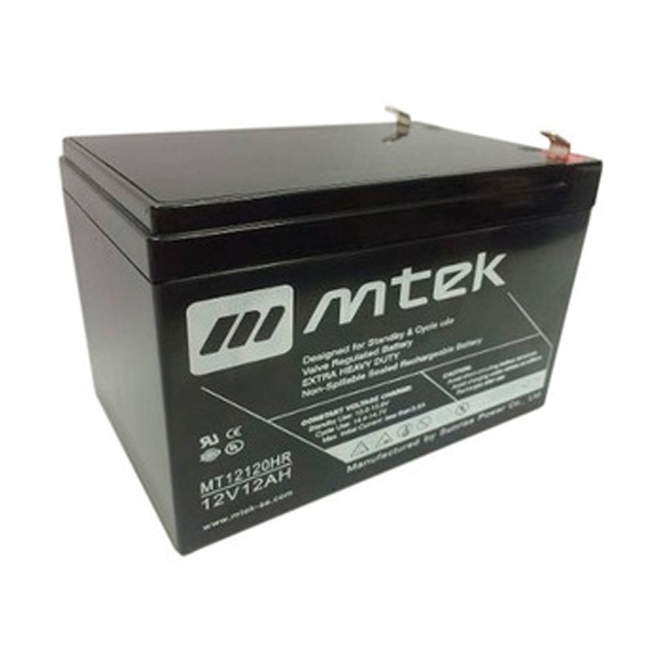 Bateria 12v 1.2ah Mtek