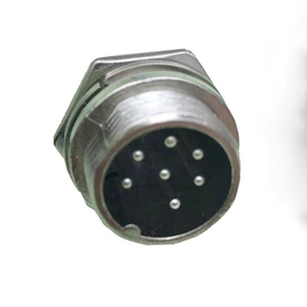 Conector Circular Macho De 7 Pines GX16-7