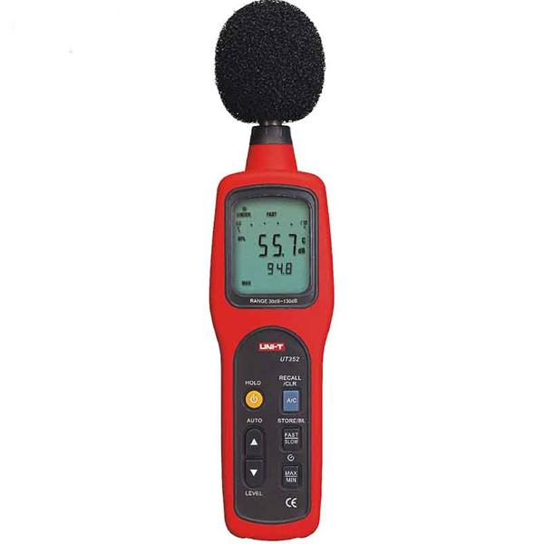 Decibelímetro Uni-Trend UT352