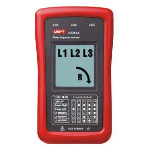 Indicador De Secuencia Fase y Rotación De Motor Unit UT261A