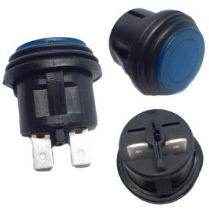 Interruptor Impermeable Azul 10A 125Vac SW735BL