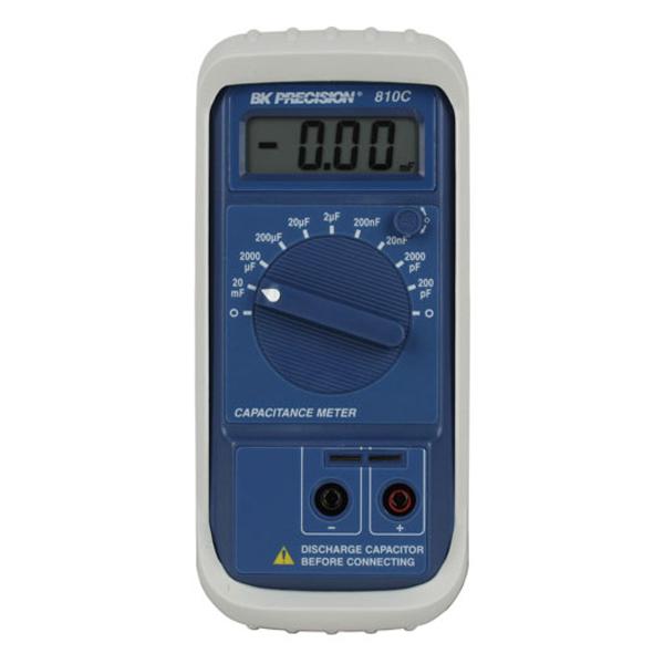 Medidor De Capacitancia Hasta 20mF BK Precision 810C