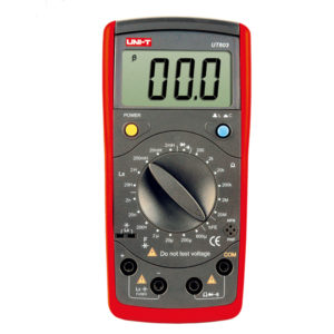 Medidor De Capacitancia Unit UT603