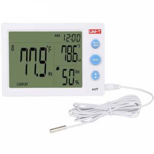 Medidor De Humedad y Temperatura Unit A12T
