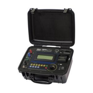 Micro-ohmímetro digital portátil hasta 10 A