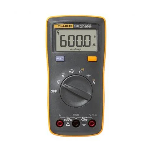 Multímetro digital del tamaño de la palma de la mano Fluke 106