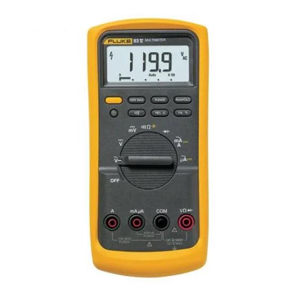 Multímetro para aplicaciones industriales de respuesta promedio Fluke 83V