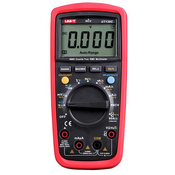 Multímetro Digital True Rms UT139C