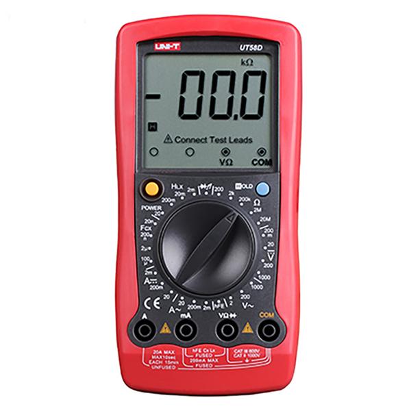 Multímetro Digital Uni-T UT58D