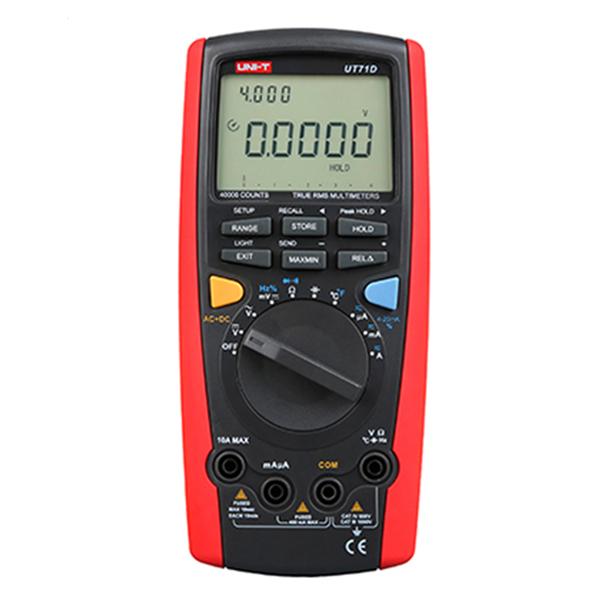 Multímetro Digital Unit UT71D
