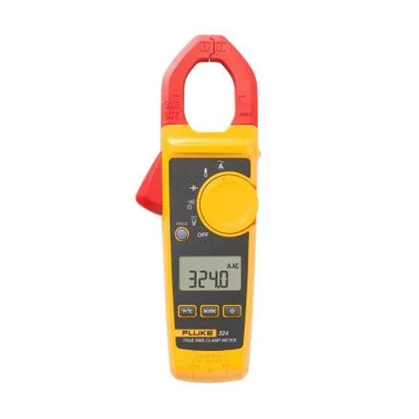 Pinza amperimétrica de verdadero valor eficaz Fluke 324 con temperatura y capacitancia