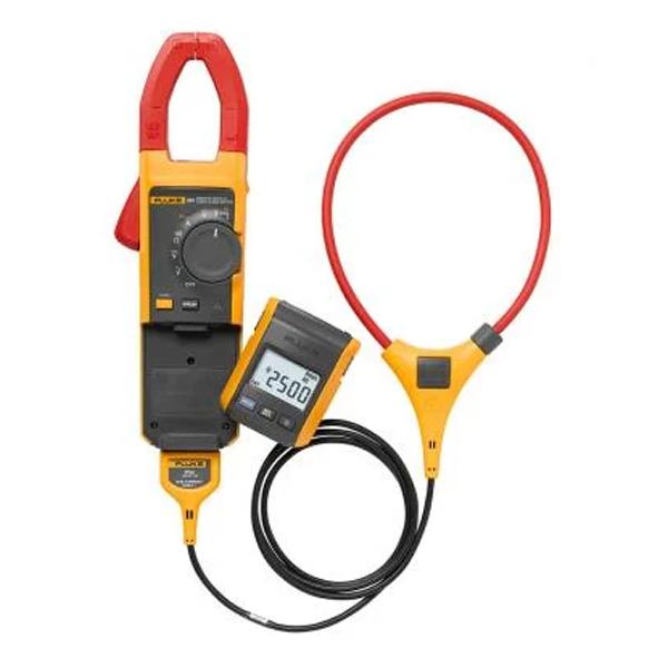 Pinza amperimétrica de CA / CC de verdadero valor eficaz con pantalla remota Fluke 381 con iFlex
