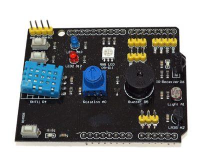 Tarjeta De Expansión Multifunción De 9 Módulos Para Arduino
