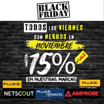 PROMOCION |NOVIEMBRE| MARCAS| FLUKE|NETSCOUNT|BLACK FRIDAY