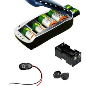 Cargadores y Accesorios de pilas y baterias