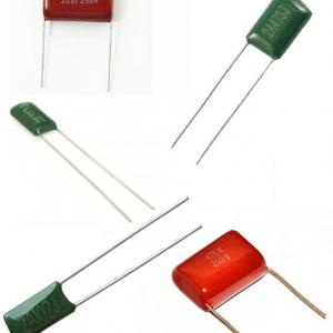 Condensadores Poliéster