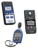 Medidores de Temperatura, Sonido y Luz Hioki